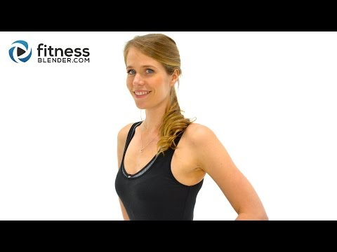 40 Min Cardio Hiit Workout + Butt, Thighs, Abs: Ultimate Workout For Belly Fat Loss, No Equipment video