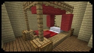 ✔ Minecraft: How to make a Poster Bed