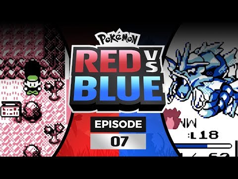 Pokemon Red and Blue Versus - EP07   DRAGON RAGE DISASTER!