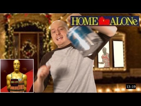 Home Alone - 1 Man 1 Movie 1 Minute video