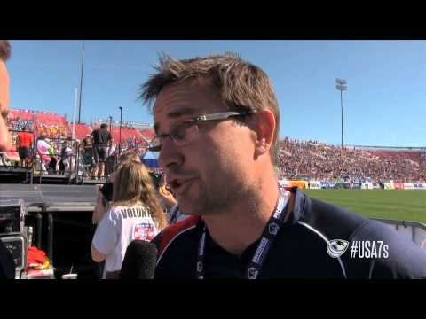Coach Mike Friday post-game vs. South Africa - USA Sevens