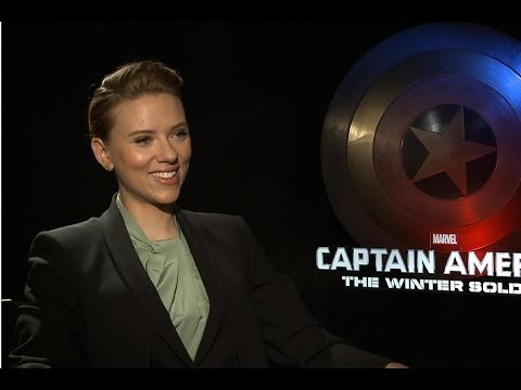 Scarlett Johansson says Black Widow is a reluctant superhero in 'Captain America'
