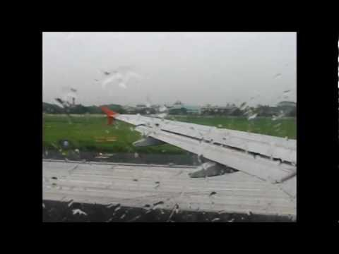 Takeoff From Kolkata Onboard Air India Airbus A319 VT-SCC