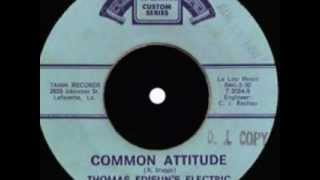 Thomas Edison's Electric Light Bulb Band Video - Common Attitude by Thomas Edisun (1968)
