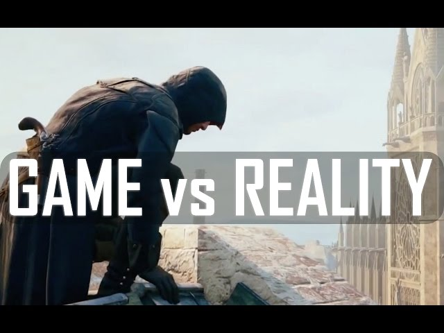 Assassin's Creed Unity - GAME vs REALITY [HD]