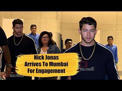 Priyanka Chopra Fiance Nick Jonas Arrives Mumbai For Engagement | FULL VIDEO | Nick Jonas & Family thumbnail