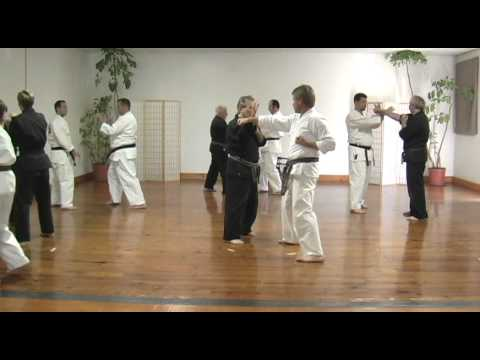 Goju Ryu Karate Advanced Bunkai/fighting 2 man drill Image 1