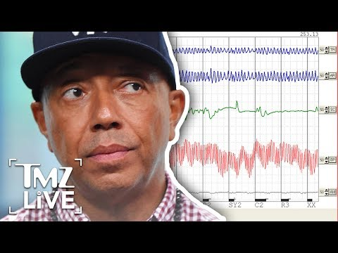 Russell Simmons Takes A Polygraph Test! | TMZ Live