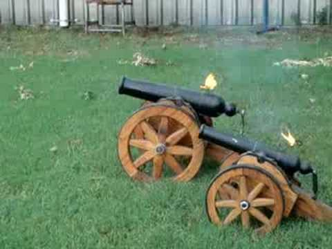 how to make a small cannon
