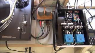 DIY Phono Preamp with 103J silvered mica capacitor (^^♪