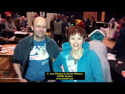 Forest City Comicon: 10-19-14 - Interview with A. Jay Williams & Alison Williams - Sillwill Studios