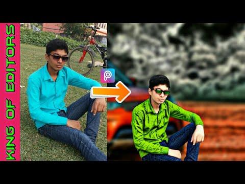 PicsArt Change Background + Hairstyle | PicsArt New Photo Editing Tutorial | King CB Edits | King CB