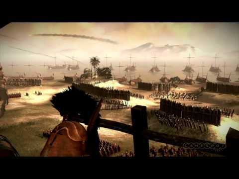 Total War: Rome II - Gameplay Batalha em Catargo