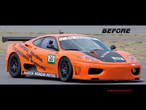 Plastidip an Entire Ferrari 360 Modena Gloss Red - BY PLASTICIT