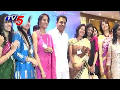 KTR attends to FICCI Women's Meeting : TV5 News