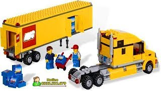Lego - Đồ Chơi Xếp hình Lego Ninjago - Lego Transport Container Truck.  298 PCS - Lego City