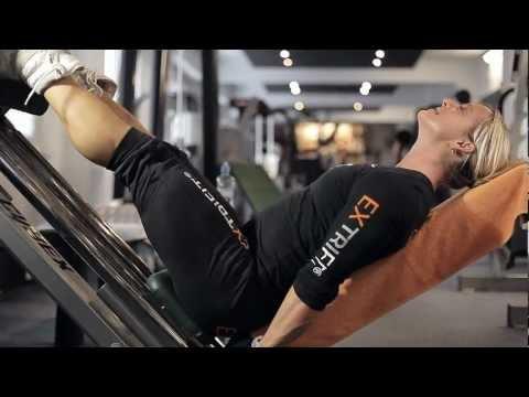 Katka Kyptová - Legs Workout in Olympia Fitness