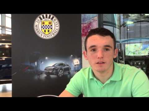 John McGinn - Celtic v St Mirren  - 21/03/2014