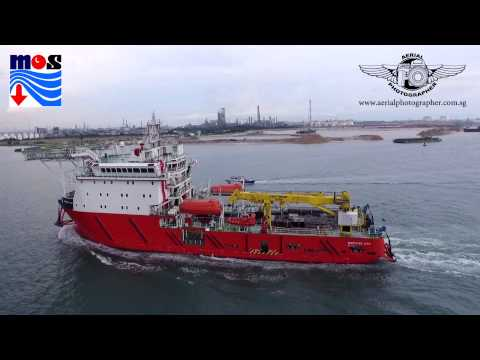 MARIDIVE 235 Multi purpose Offshore Support Vessel by Aerial Photographer SG
