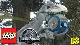 "LEGO JURASSIC WORLD Gameplay Walkthrough Part 18 - ""DINOSAUR HAMSTER TUBES!!!"" (1080p HD PC)"