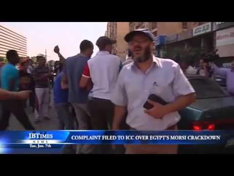 Complaint Filed to ICC over Egypt's Morsi Crackdown
