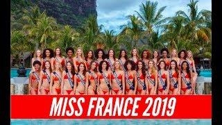 LES 30 CANDIDATES DE MISS FRANCE 2019