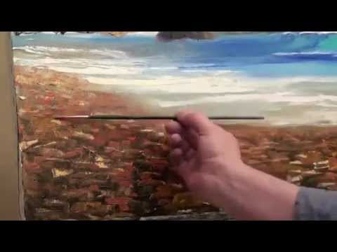 Уроки пейзажа Боба Росса - видео