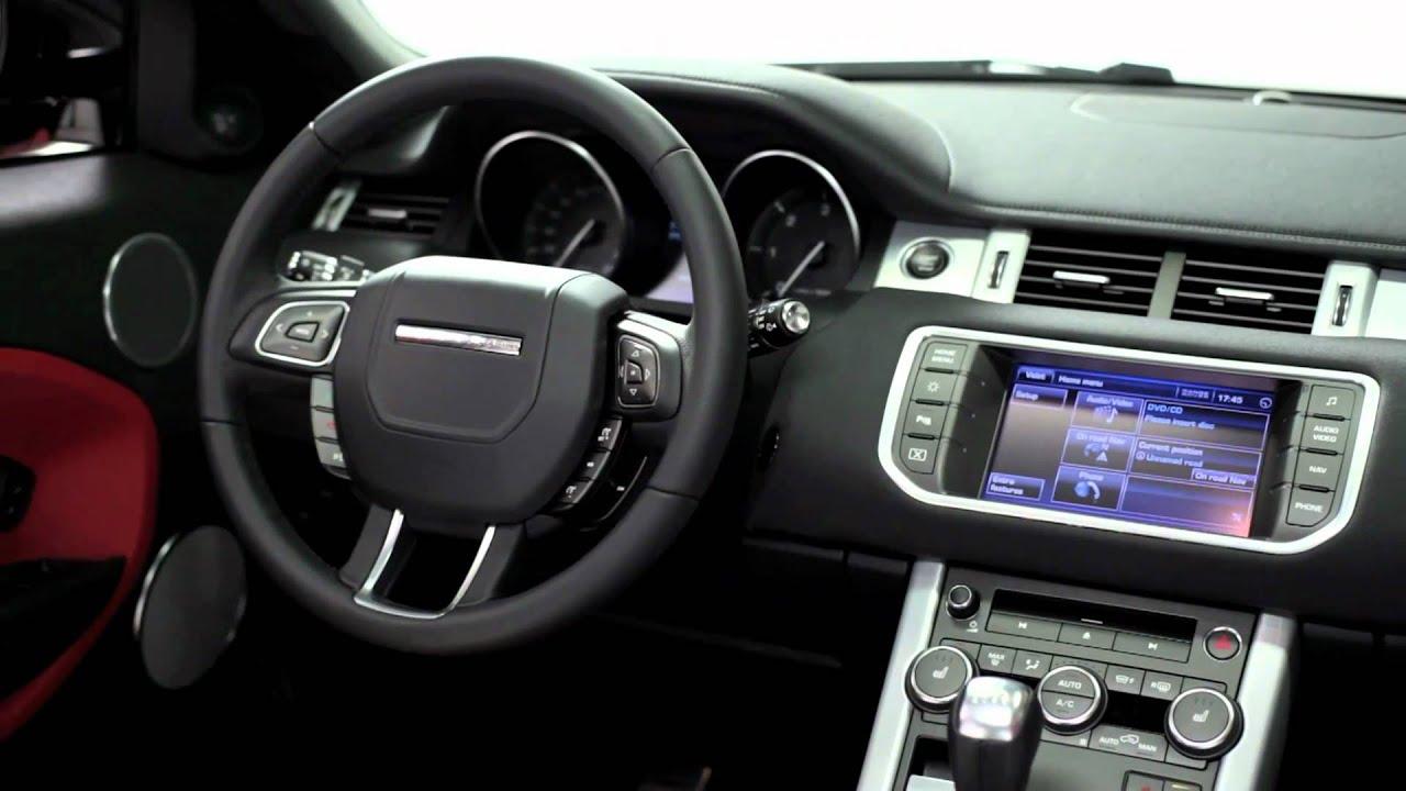 Range Rover Evoque Interior >> 2012 5-Door Range Rover Evoque Interior - YouTube