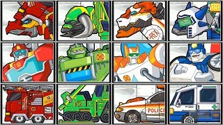 Rescue Bots + Dino Robot Corps - Full Game Play 1080 HD
