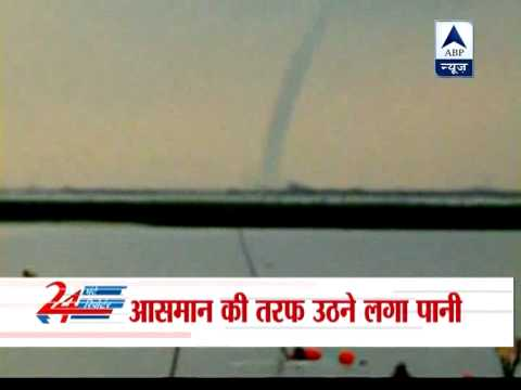 East China witness Waterspout over Hongze Lake