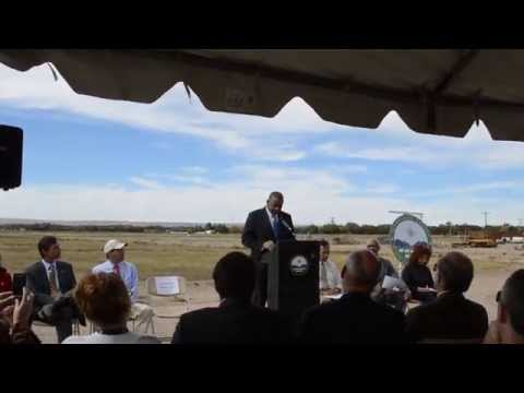 Anthony Foxx at Valle de Oro NWR