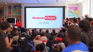 Nintendo Direct E3 2019 LIVE REACTION at Nintendo NY