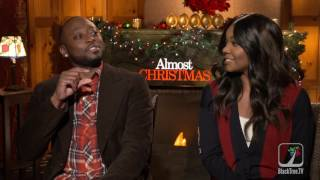 Gabrielle Union and Omar Epps Interview Almost Christmas