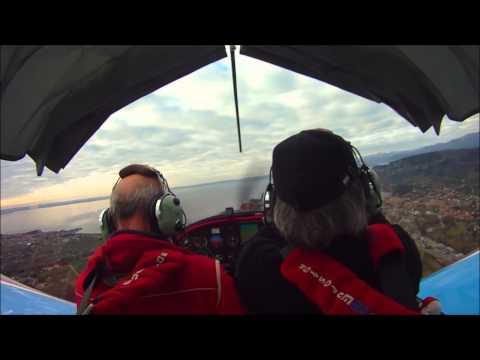 Evektor Eurostar - Inside the cockpit