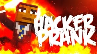 BANNING A HACKER PRANK ( Minecraft Funny Videos & Moments - Pranks )