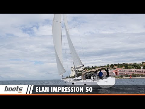 Elan Impression 50: Video Boat Review