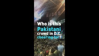 What is Imran Khan doing in Washington D.C. and what's his meeting with Trump all about?