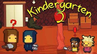 MYSTERY KIDS HID INSIDE OF NEW NUGGET CAVE TO FIND THE SCHOOL'S DARK SECRETS | Kindergarten 2 [8]