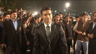 Dhanush @ IDEA FILMFARE AWARDS 2014.