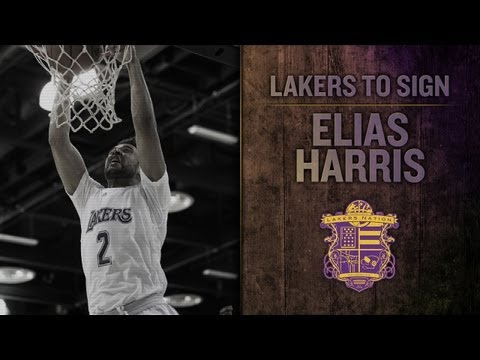 Lakers To Sign Forward Elias Harris To Two-Year Deal