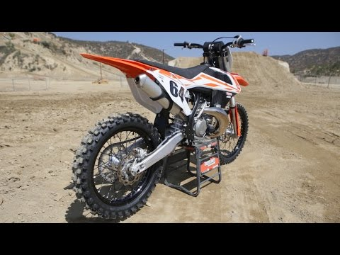 First Ride 2017 KTM 250SX 2 Stroke - Motocross Action Magazine