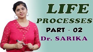 Life Processes for Class 10 | Transportation In Plants | Science / Biology | Dr. Sarika