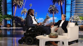 Ellen's Incredible Surprise for 'Amazing Emeka'  from TheEllenShow