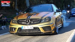 MADNESS at Carfreitag Nürburgring 2019 - Burnouts, Powerslides, Loud Pops & Bangs!