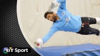 David James amazing wicket-keeping   BTSP