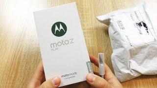 Moto Z Play, знакомство с модульным смартфоном!