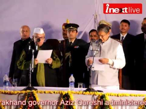 Harish Rawat takes oath as new CM of Uttarakhand
