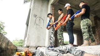 Hihahe Nerf War: SWAT & Bodyguard Team Nerf Guns Suicide Squad Last Battle Nerf Movies