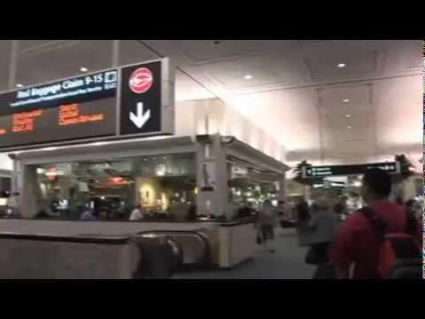 TAMPA INTERNATIONAL AIRPORT FLORIDA USA Budget Car Rental Directions Video