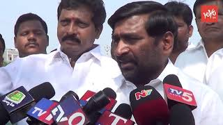 Guntakandla Jagadish Reddy Checks Arrangements for TRS Public Meeting | Suryapet